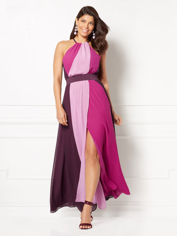 Eva Mendes Collection - Antonia Maxi Dress in Eggplant