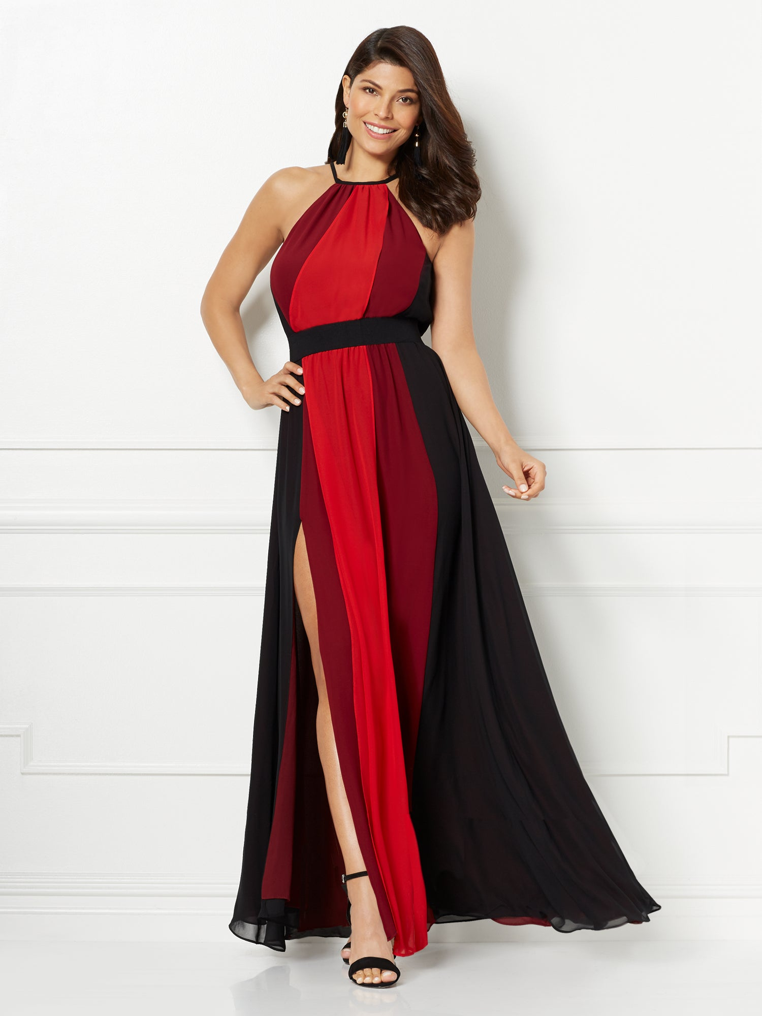 New York Company Eva Mendes Collection Antonia Maxi Dress In