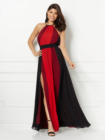 Eva Mendes Collection - Antonia Maxi Dress in Siren Red