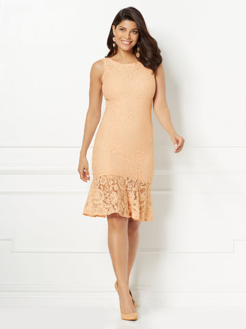 Eva Mendes Collection - Garcelle Mermaid Dress in Pale Blush