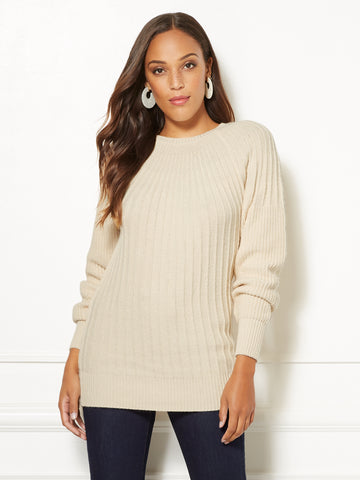Eva Mendes Collection - Deena Sweater in Baked Ivory