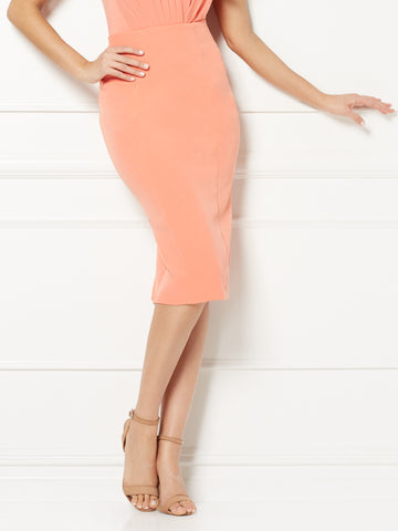 Eva Mendes Collection - Requella Skirt in Island Coral