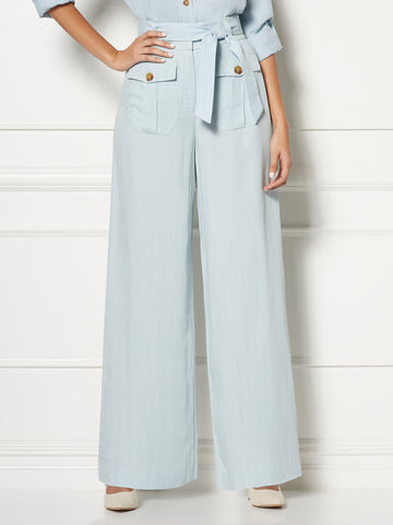 Jordan Pant - Eva Mendes Collection in Light Wash