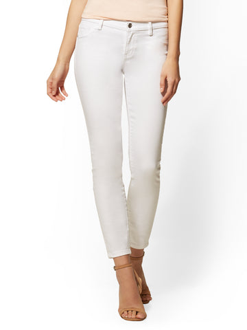 Soho Jeans - White Ankle in Optic White