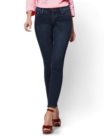 Soho Jeans - Legging - Blue Hustle Wash