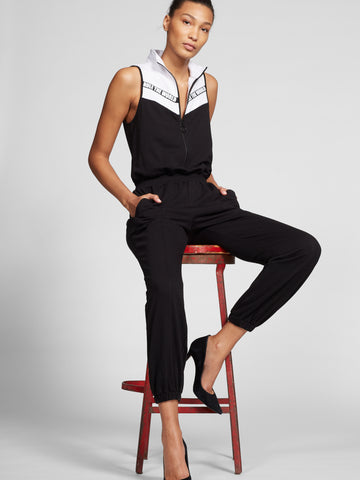 3f6b42b76ed6 NEW YORK   COMPANY Gabrielle Union Collection-Rule the World Jumpsuit in  Black
