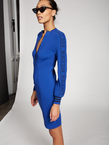 Gabrielle Union Collection - 'World Tour' Dress in Ming Blue
