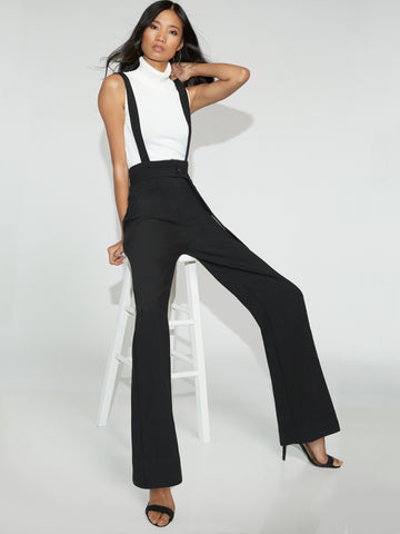 Suspender Pant - Gabrielle Union Collection in Black