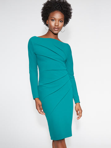 Sheath Dress - Gabrielle Union Collection in Dazzling Green