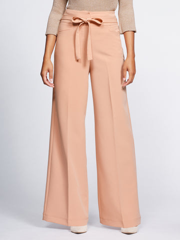 Gabrielle Union Collection - Palazzo Pant in Honey Puff