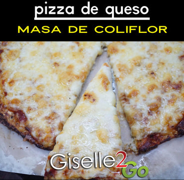 952 Pizza Five Cheese en Masa de Coliflor *