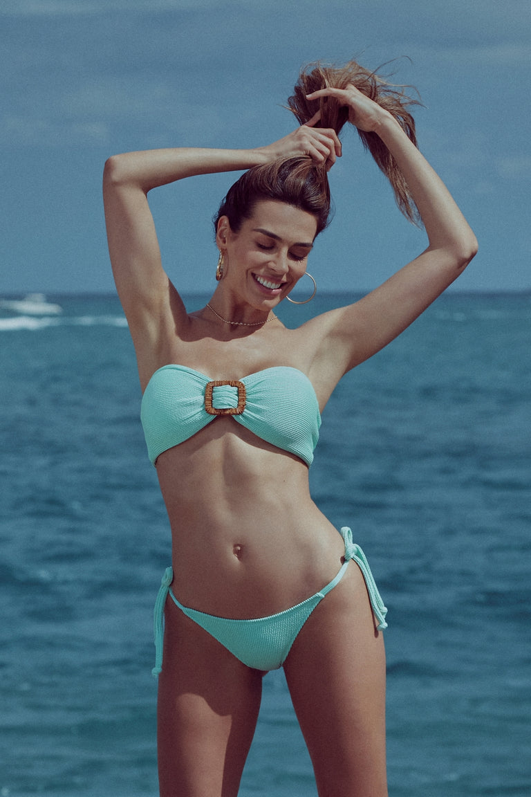 BANDEAU 3 WAYS MINT COLOR | BIKINI SET