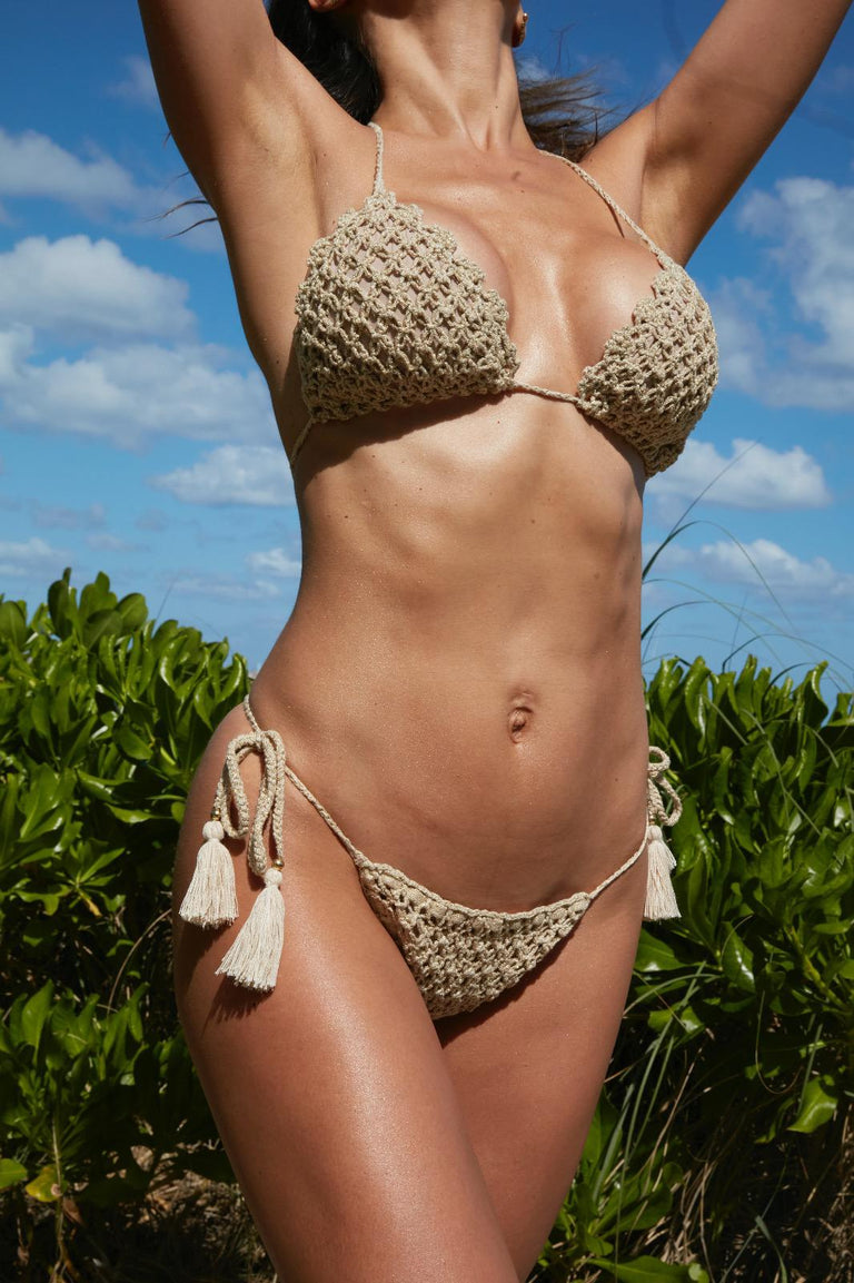 'THE HIDDEN SECRET 'CROCHET BIKINI