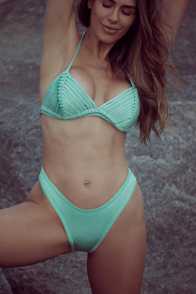 THE ONLY ONE MINT| TRIANGLE BIKINI SET