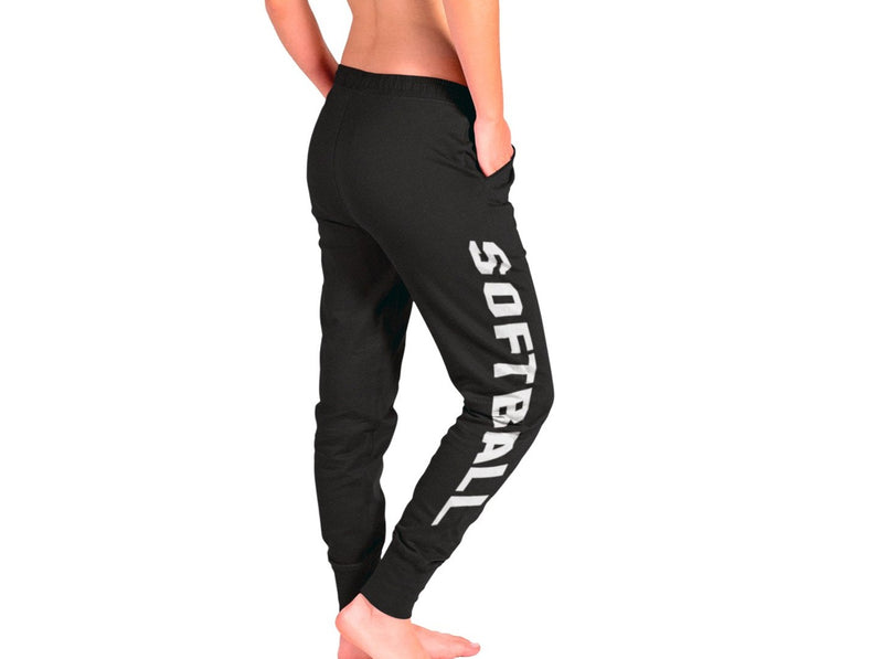 Softball Soft Jogger Drawstring Pocket Cuff Pants Sweatpants