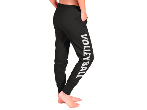 Volleyball Soft Jogger Drawstring Pocket Cuff Pants Sweatpants