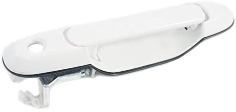 Patlin Front Left Driver Side Outside Exterior Door Handle 040 White Compatible Replacement for 1998-2003 Toyota Sienna - Sentinel Auto Parts
