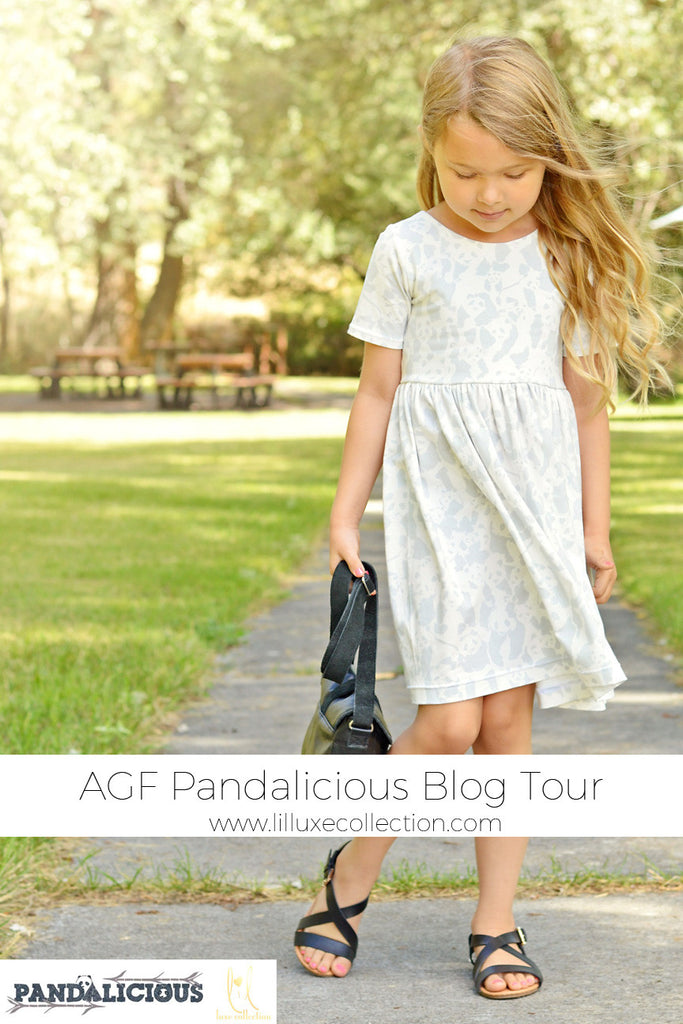 AGF Pandalicious Blog Tour | Starlight City Dress