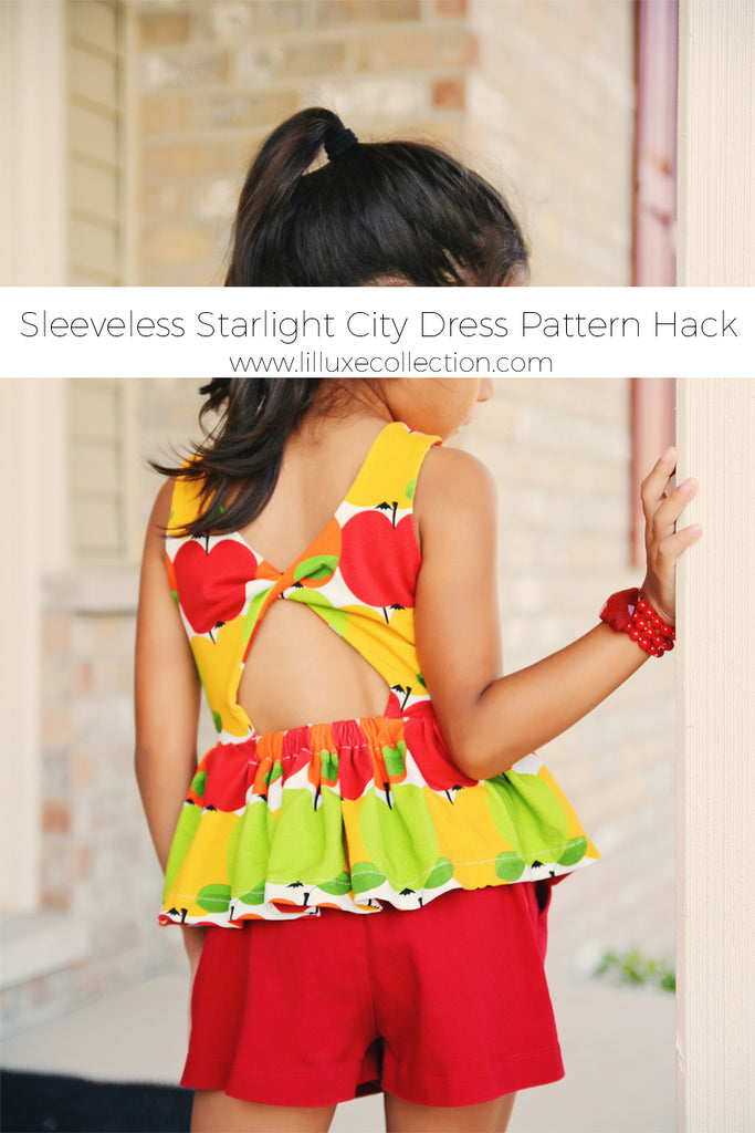 Sleeveless Starlight City Dress Pattern Hack