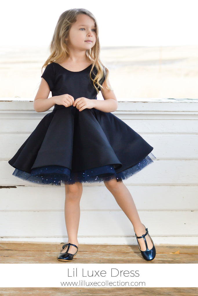 Starting the year with a bang – Introducing the Lil Luxe Dress!