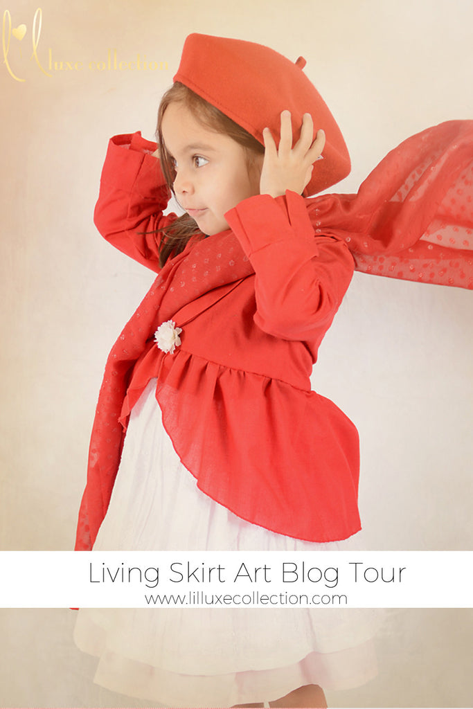 Living Skirt Art – Red Cap Girl