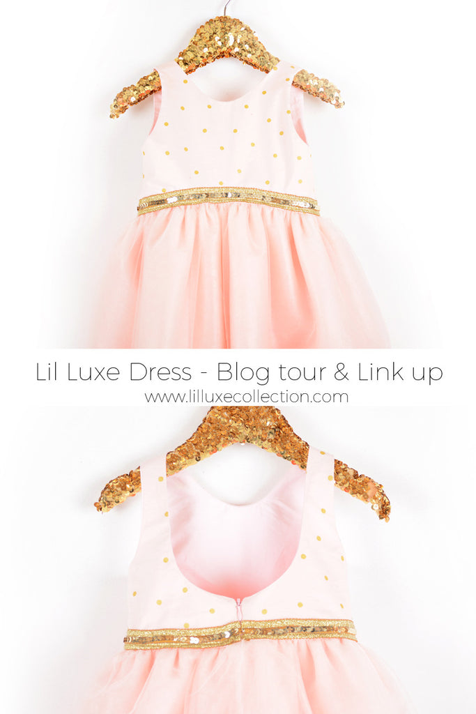 Lil Luxe Dress Blog tour, Sew Along and link up