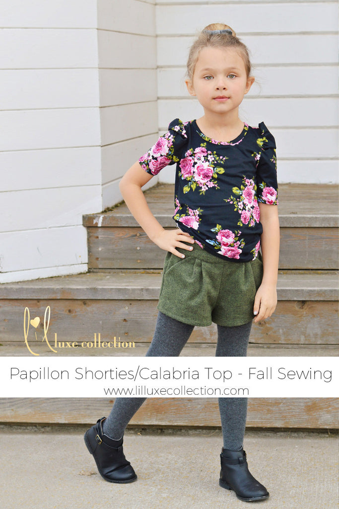 Papillon Shorties & Calabria Top | Fall Style | Make of the Week