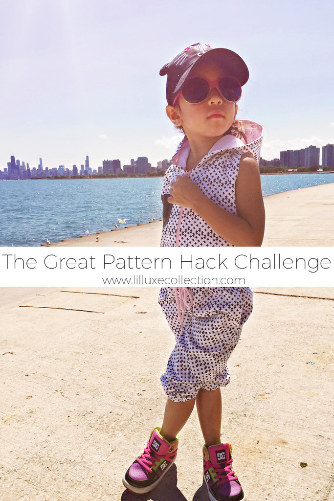 Making it Fun! The great pattern hack challenge for Michael Miller Fabrics