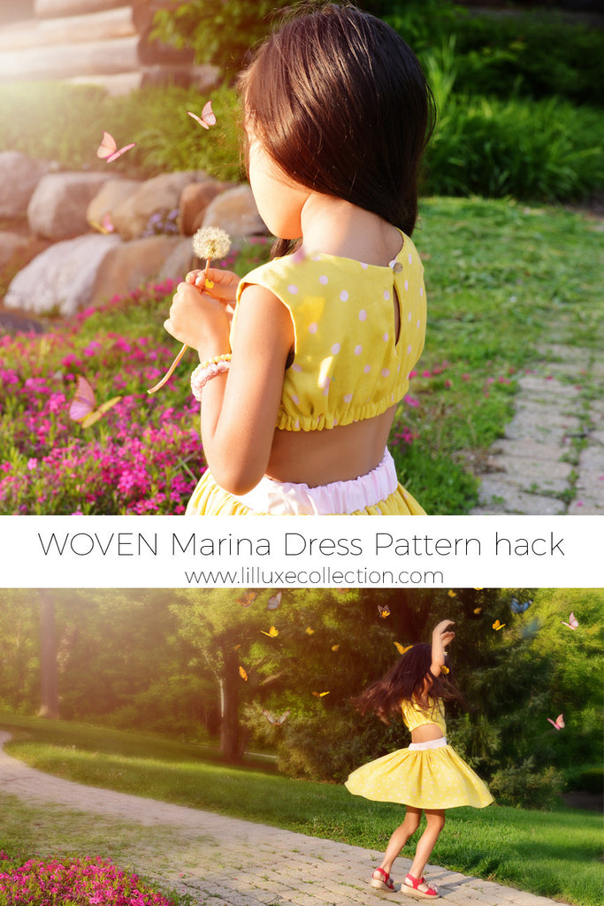 Marina Dress - Woven pattern hack