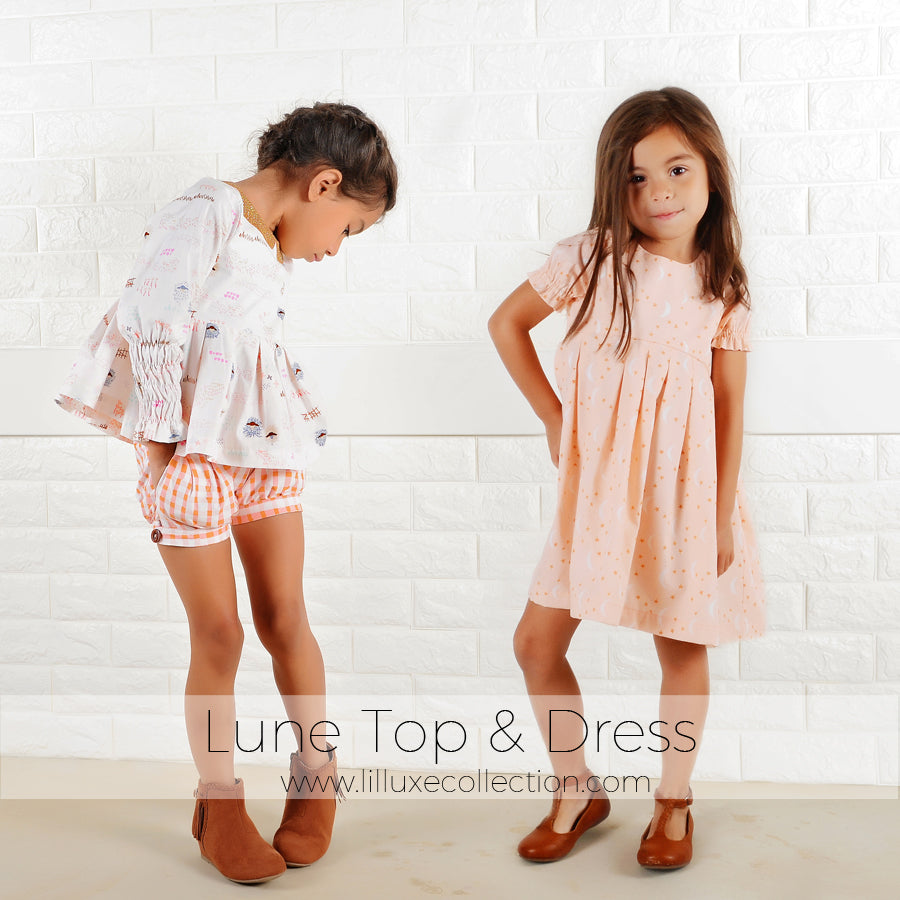 Lune Top & Dress