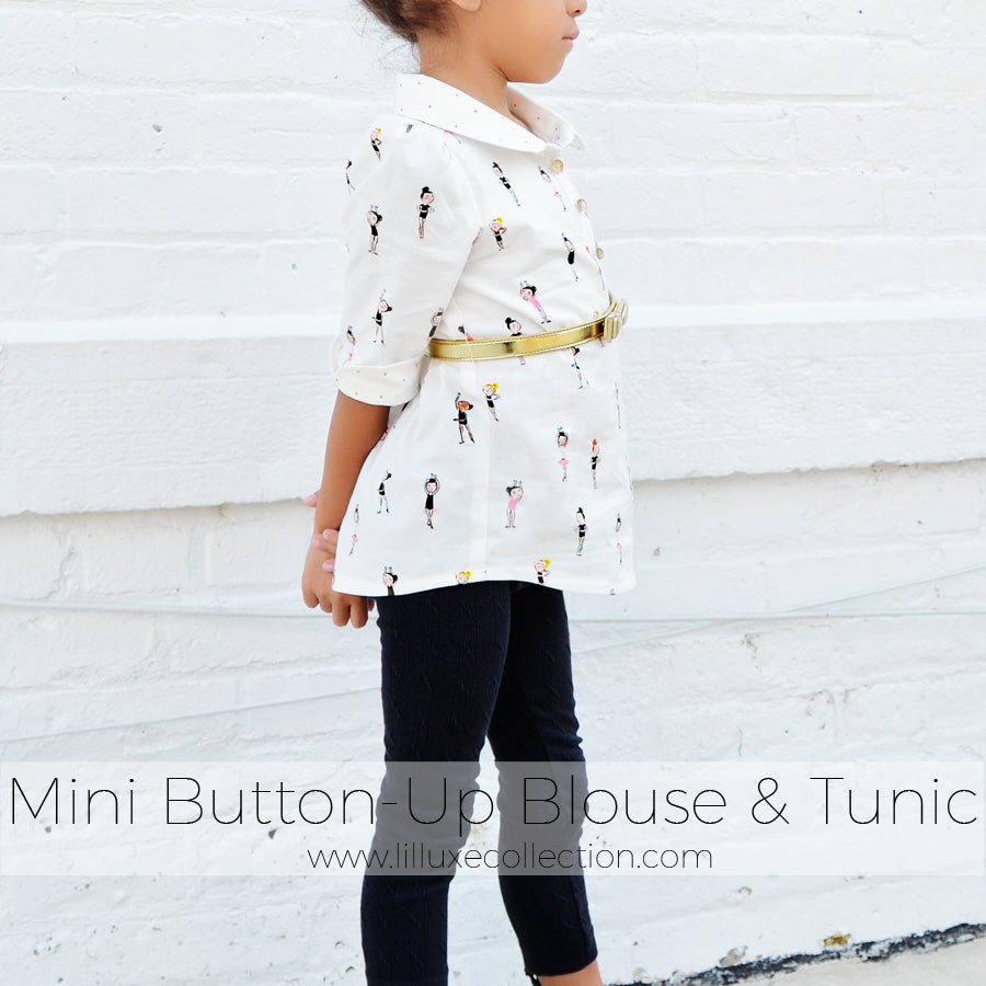 Mini Button up Blouse & Tunic