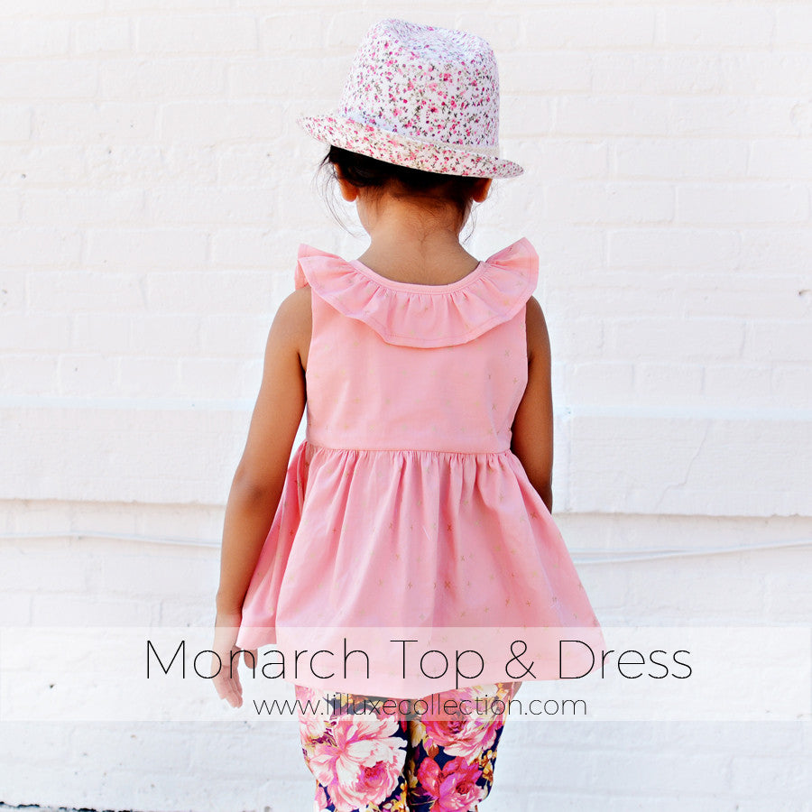 Monarch Top & Dress