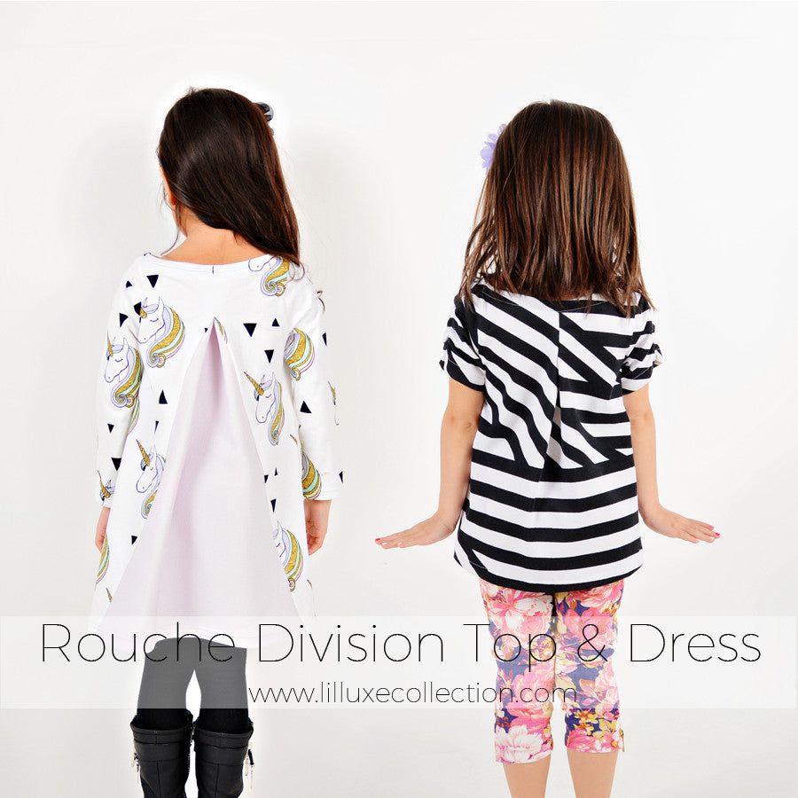 Rouche Division Top & Dress