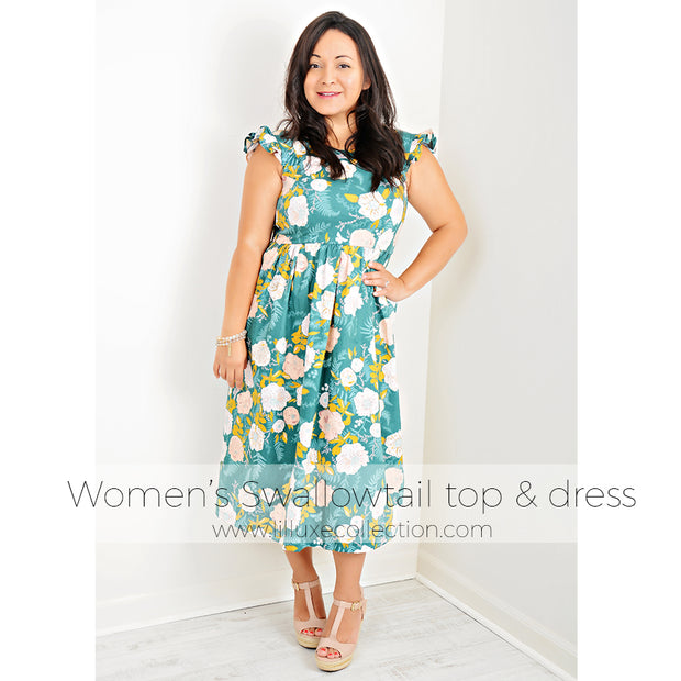 Women's Swallowtail top & dress