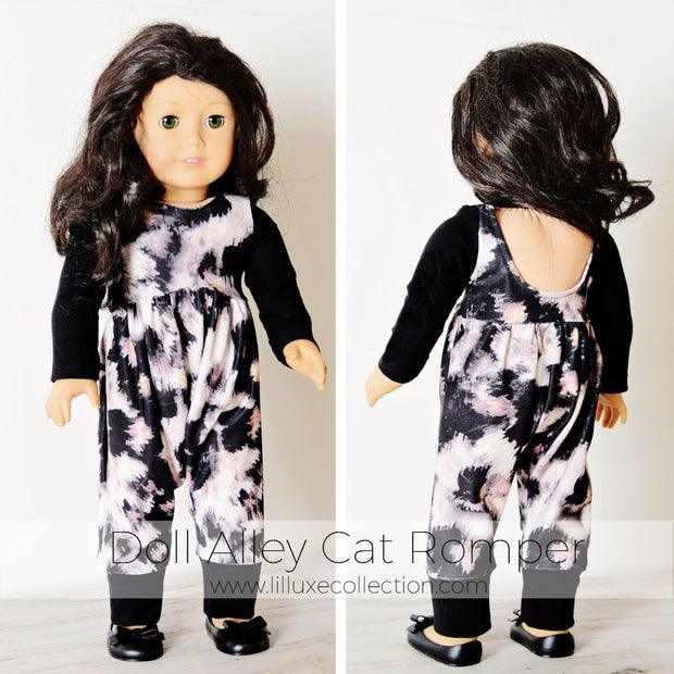 DOLL Alley Cat Romper