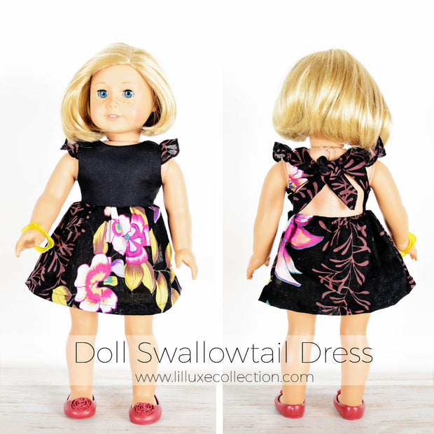 DOLL Swallowtail Dress