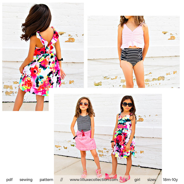 Abernathy Swim Set, Top & Dress