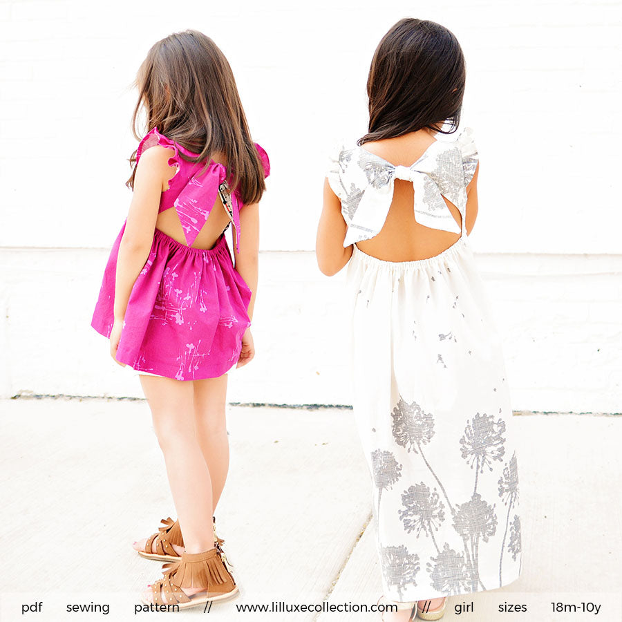 Swallowtail Top & Dress