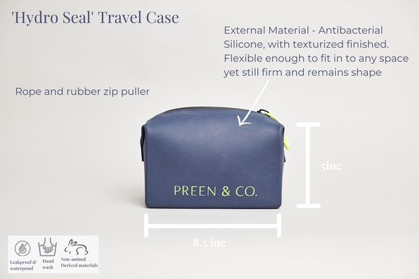 Hydro Seal Toiletry case leakprrf