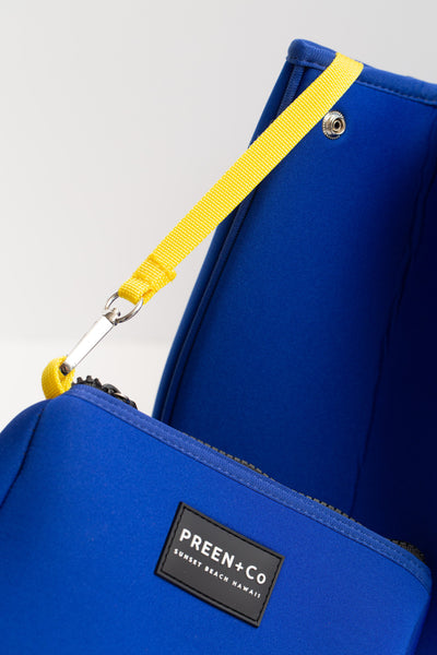 The Oahu Tote Nalu Blue - PREEN+Co