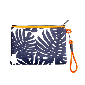 The Oahu Pouch Distressed Indigo - PREEN&Co