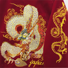 embroidered dragon bomber jacket baseball uniform female