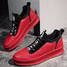 Kanye Hip Hop Leather Sneakers Men