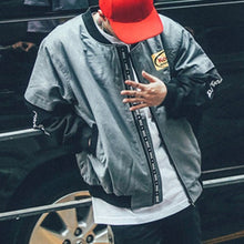 Japanese Hip Hop Style Bomber Jacket Men