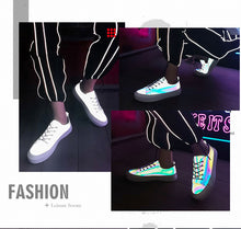 Reflective sneakers Men