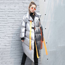 Ribbons Down Jacket For Women