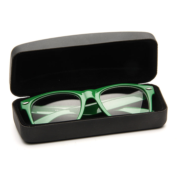 Hinged Closure Hard Sunglasses Case