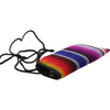Colorful Mexican Blanket Pattern Soft Padded Slip-in Sunglasses Case
