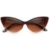 Kim Kardashian Style Cat Eye Celebrity Sunglasses