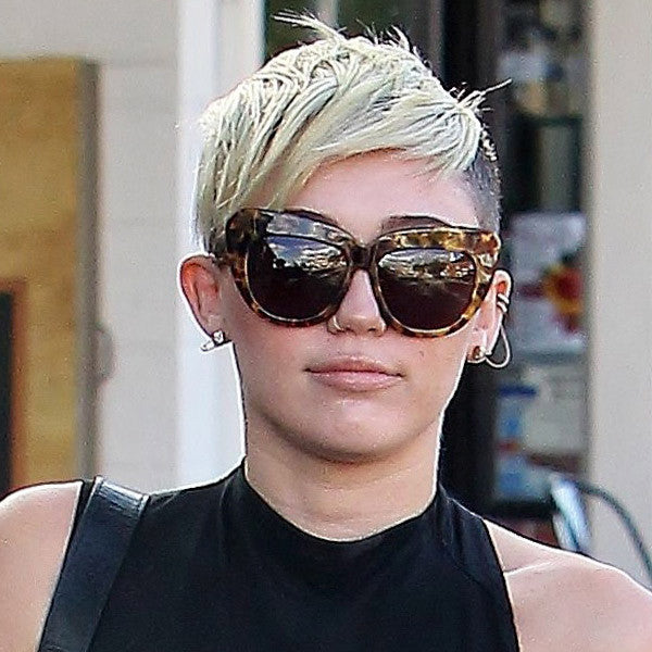Miley Cyrus Style Cat Eye Celebrity Sunglasses